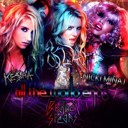 Nuevo Remix de Britney Spears junto a Kesha y Nicki Minaj.
