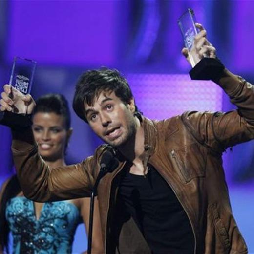 Enrique Iglesias, el gran ganador de los Latin Billboards 2011
