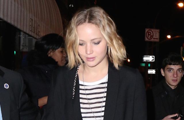 Jennifer Lawrence y Chris Martin: paseo romántico por Central Park