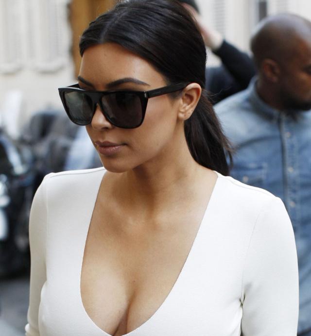 Kim en la portada de Rolling Stone