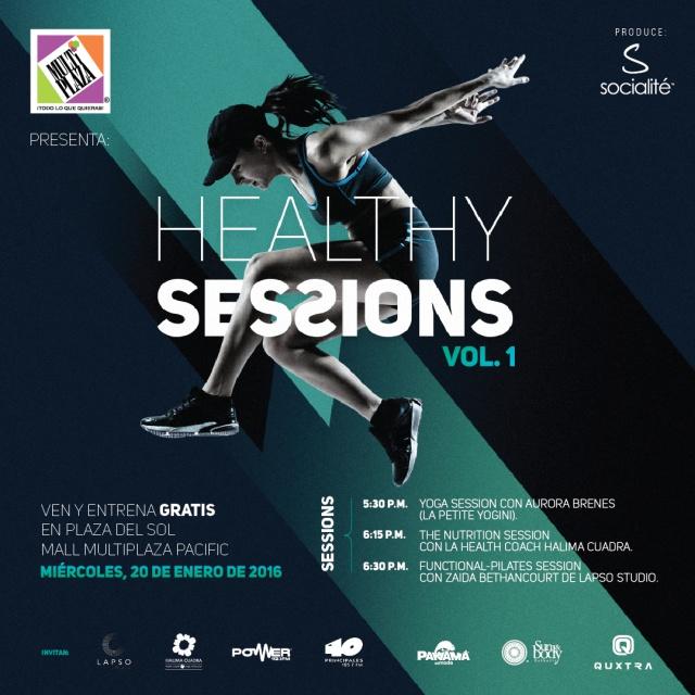 Healthy Sessions: Lo nuevo del fitness en Multiplaza