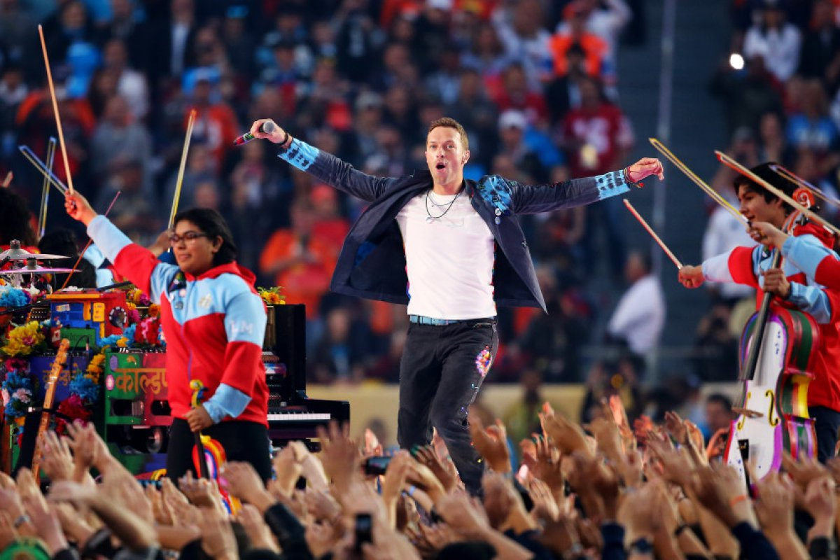 ¡Coldplay, Bruno Mars, Beyonce y Gaga!