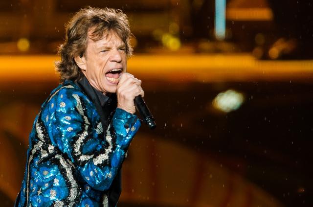Jagger Papá a los 73 años