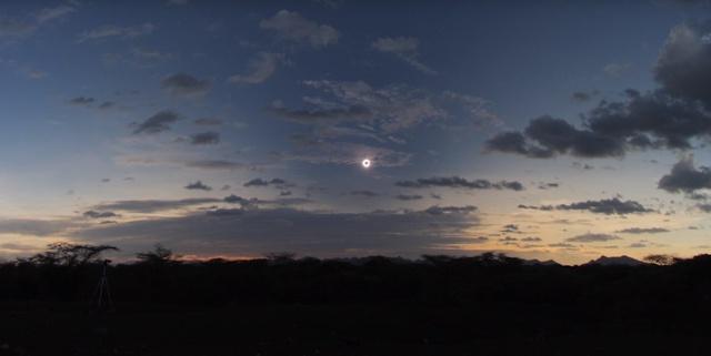 Eclipse Solar Total 21 de Agosto