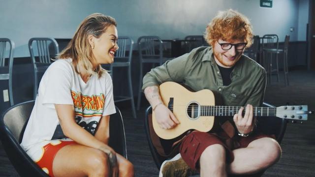Your song, Rita Ora y Ed Sheeran