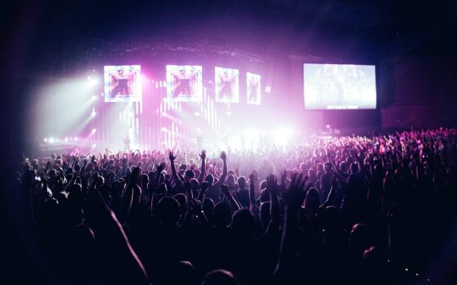 Viajar para conciertos