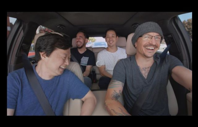 Carpool Karaoke Chester Bennington
