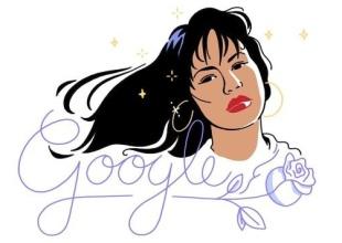 Google honra a Selena Quintanilla con un doodle muy especial