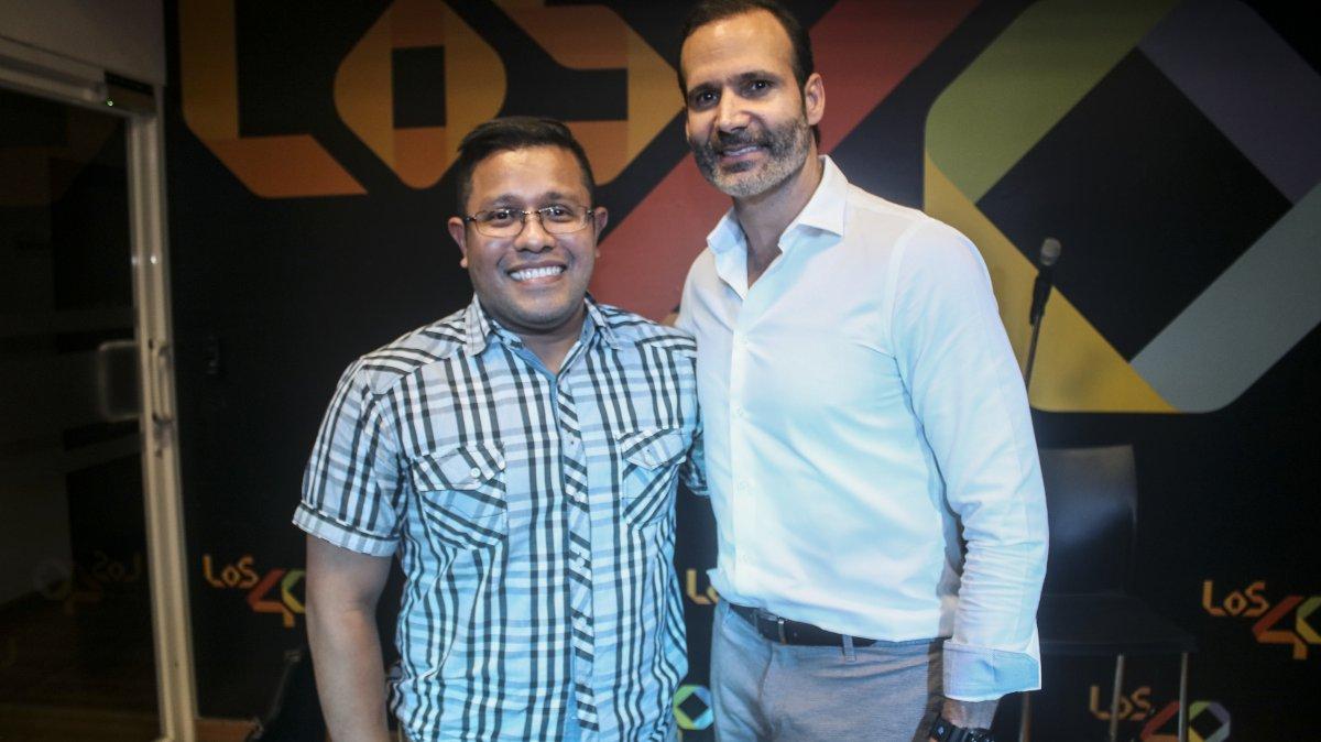 Horacio Valdés en LOS40