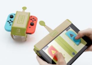 Nintendo combina su tecnología con algo tan básico como el cartón para crear un producto que sin duda te encatará.