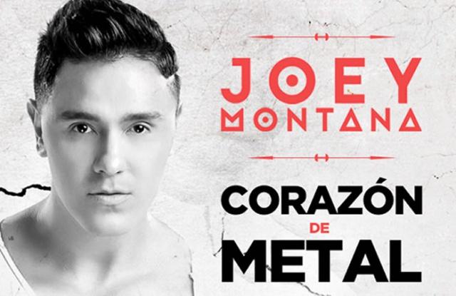 Joey Montana estrena Corazón de Metal