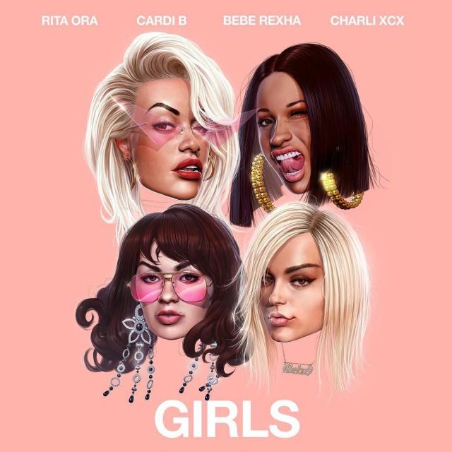 Girls de Rita Ora, Cardi B, Bebe Rexha y Charli XCX
