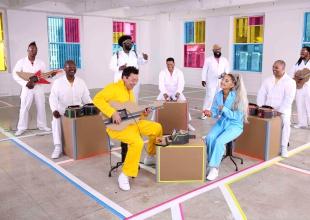 Nintendo Labo + Ariana Grande + Jimmy Fallon