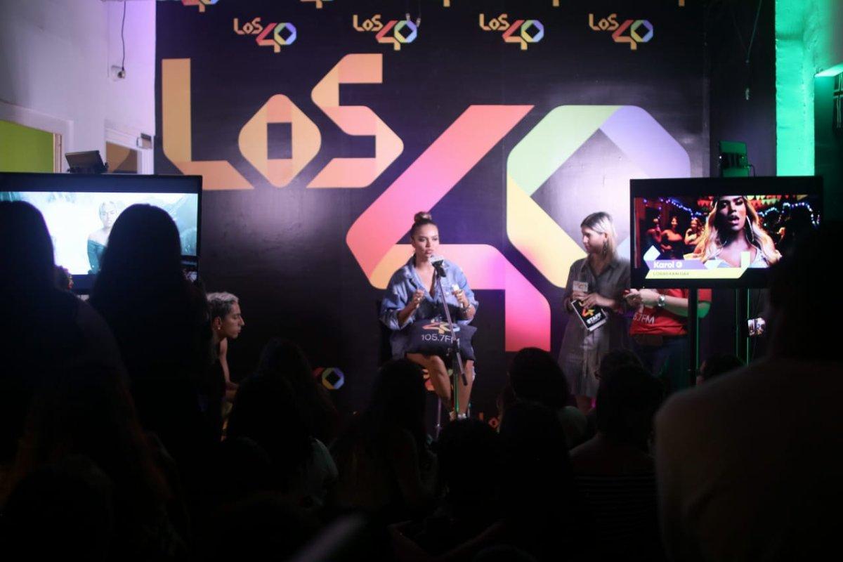 Karol G en LOS40