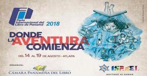 Ya inicio la Feria Internacional del Libro de Panamá 2018
