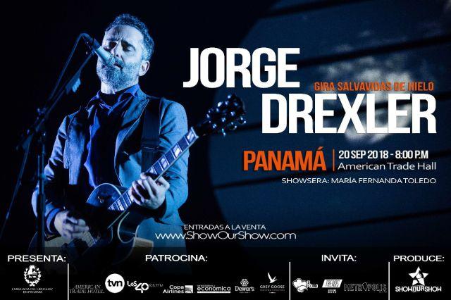 "Confirmado Jorge Drexler en Panamá para la gira ""Salvavidas de Hielo"""