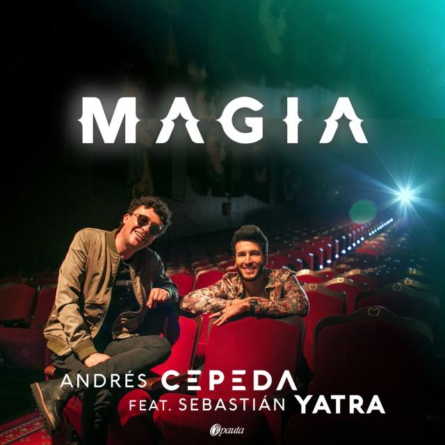 """Andrés Cepeda crea """"Magia"""" junto a Sebastían Yatra"""
