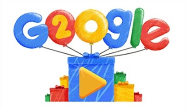 Celebrando los 20 años de Google