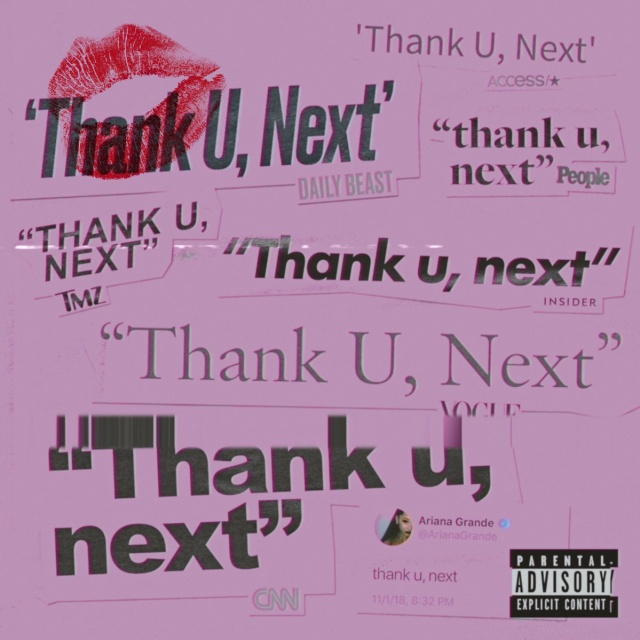 """Ariana Grande estrena """"Thank u, next"""""""