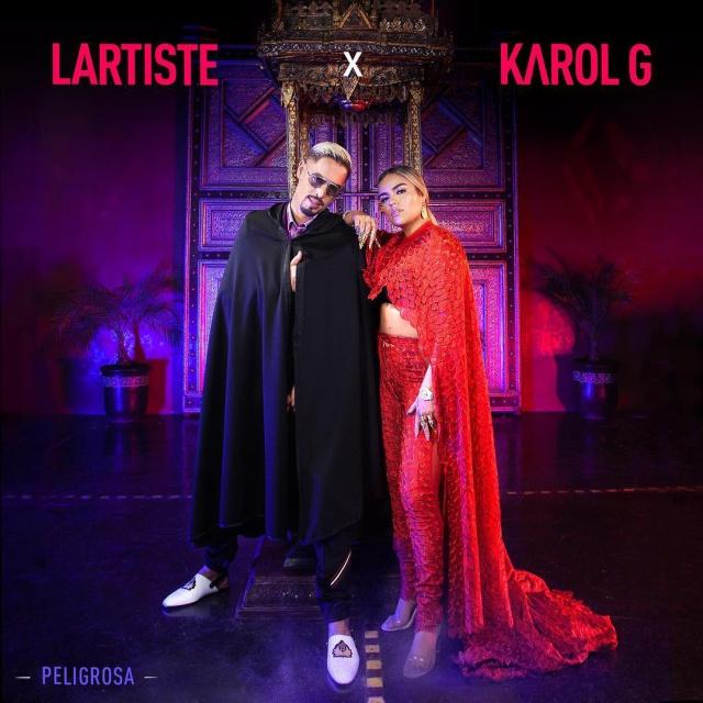 """Karol G viene """"Peligrosa"""" con Lartiste"""