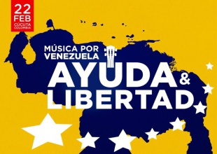Todo listo para el Venezuela Aid Live