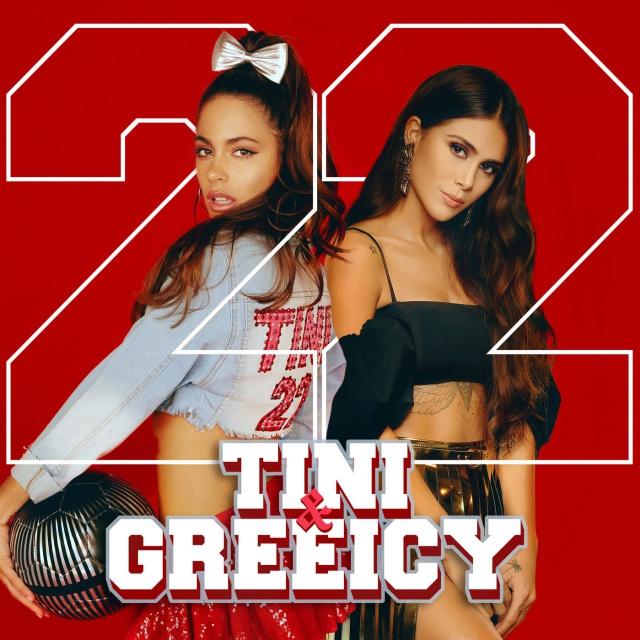 """""""22"""" de Tini junto a Greeicy"""
