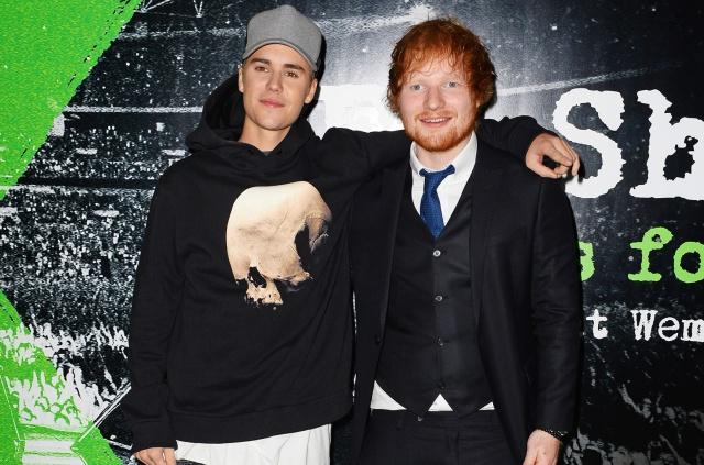 ¡Ed Sheeran y Justin Bieber juntos!