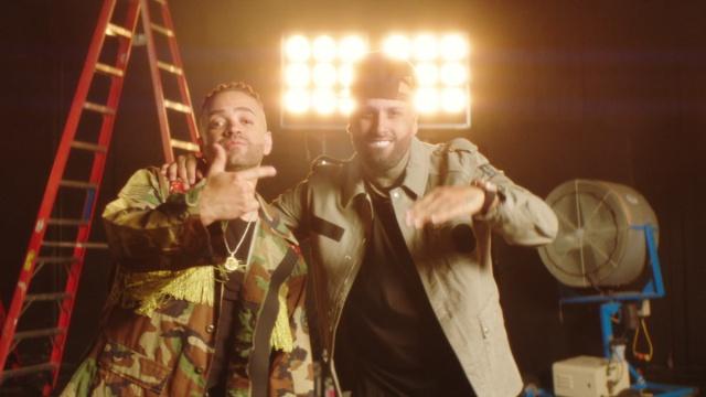 """Nacho y Nicky Jam en """"Monalisa"""""""
