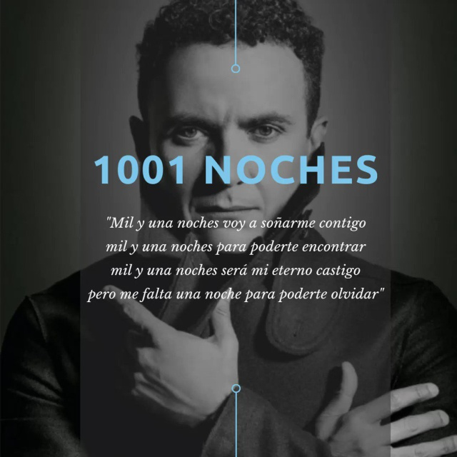 """Fonseca nos trae sencillo """"Mil y una noches"""""""