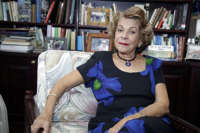 Rosa Maria Britton, amiga de la juventud