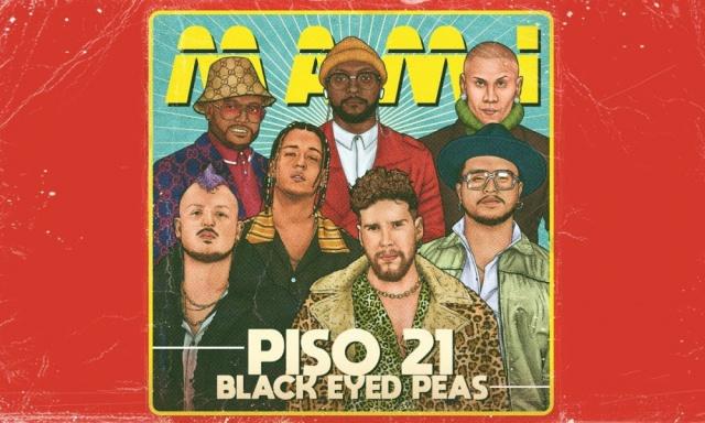 """Piso 21 se une a Black Eyed Peas en """"Mami"""""""