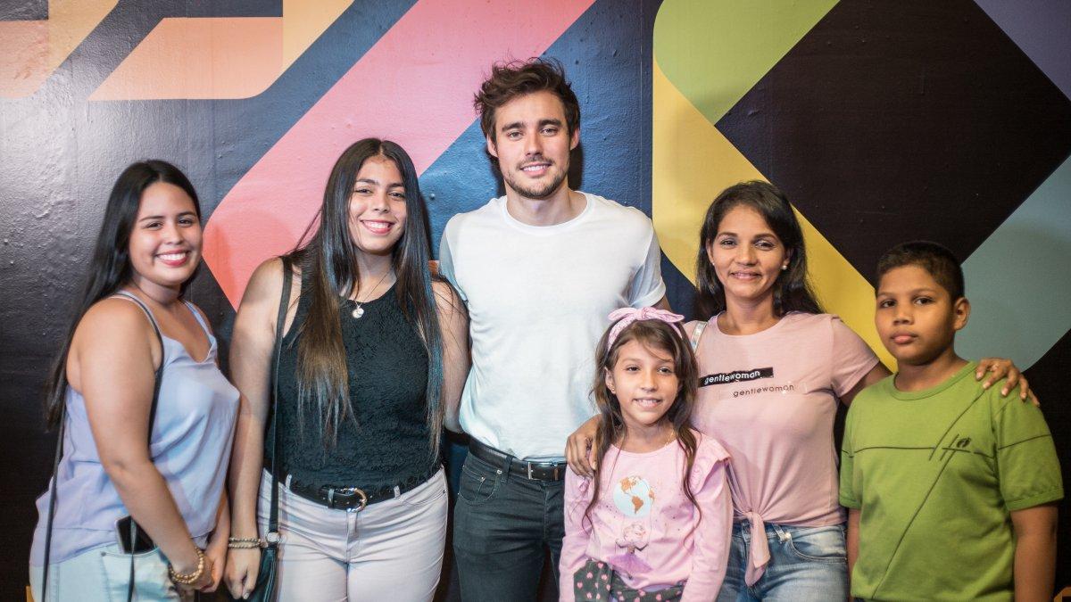Visita Jorge Blanco