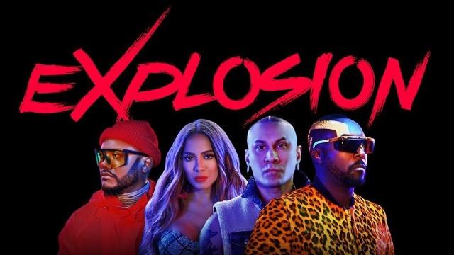 "Anitta se una a Black Eyed Peas en ""eXplosion"""
