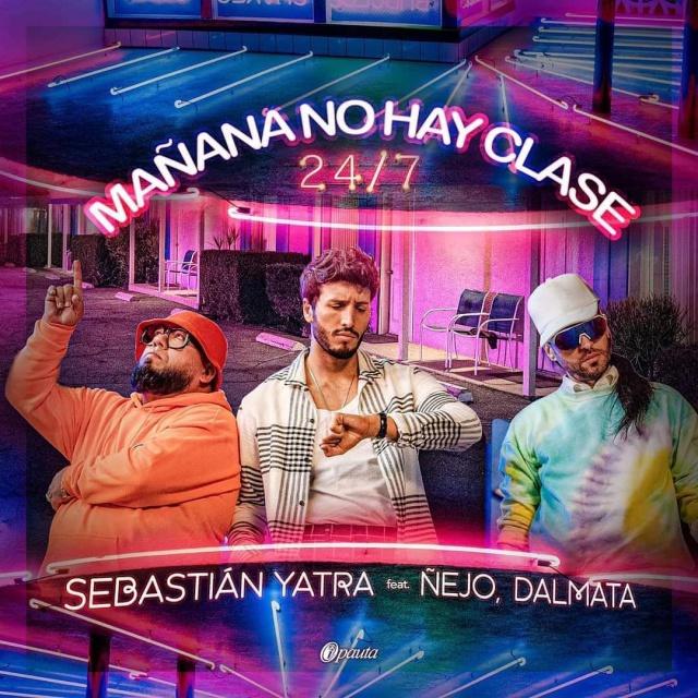 """Sebastian Yatra estrena """"Mañana no hay clase 24/7"""""""