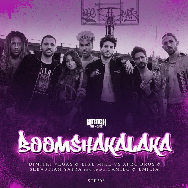 """Boom Shakalaka"" de Sebastian Yatra junto a Dimitri Vegas & Like Mike, Afro Bros, Camilo y Emilia"
