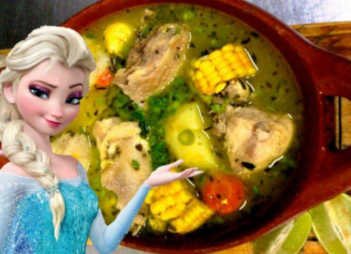 Elsa de Frozen: El primer meme del 2020