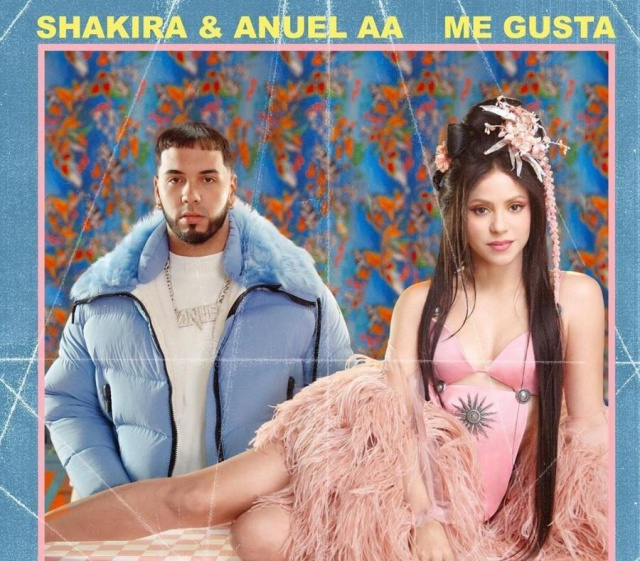 """Shakira se une a Anuel AA en """"Me Gusta"""""""