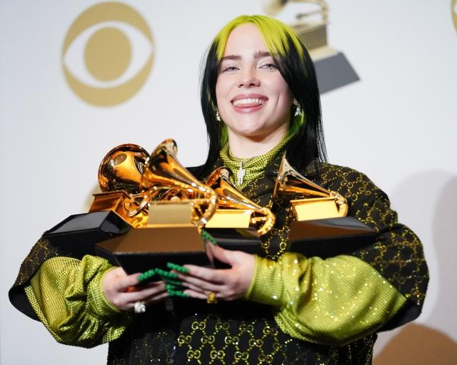 Ganadores de los Grammy 2020, Billie Eilish