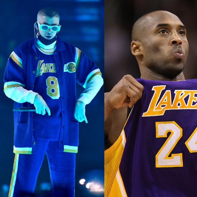 Bad Bunny rinde homenaje a Kobe Bryant