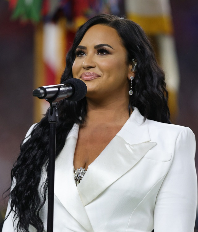 Demi Lovato en el SuperBowl