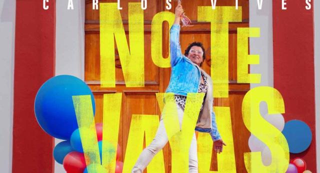"""Carlos Vives presenta """"No te Vayas"""""""
