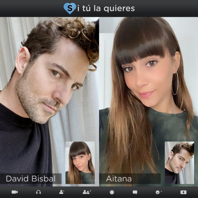 """David Bisbal y Aitana presentan """"Si Tu La Quieres"""""""