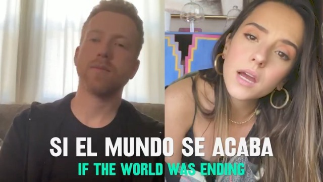 If The World Was Ending (Spanglish Version) JP Saxe Feat. Evaluna Montaner