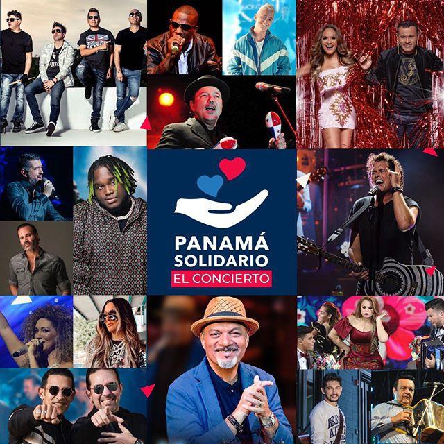 Concierto Panamá Solidario
