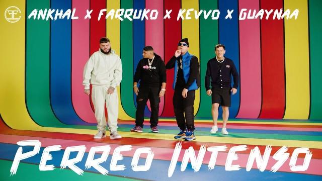 "Farruko, Ankhal, Guaynaa & Kevvo con ""Perreo Intenso"""