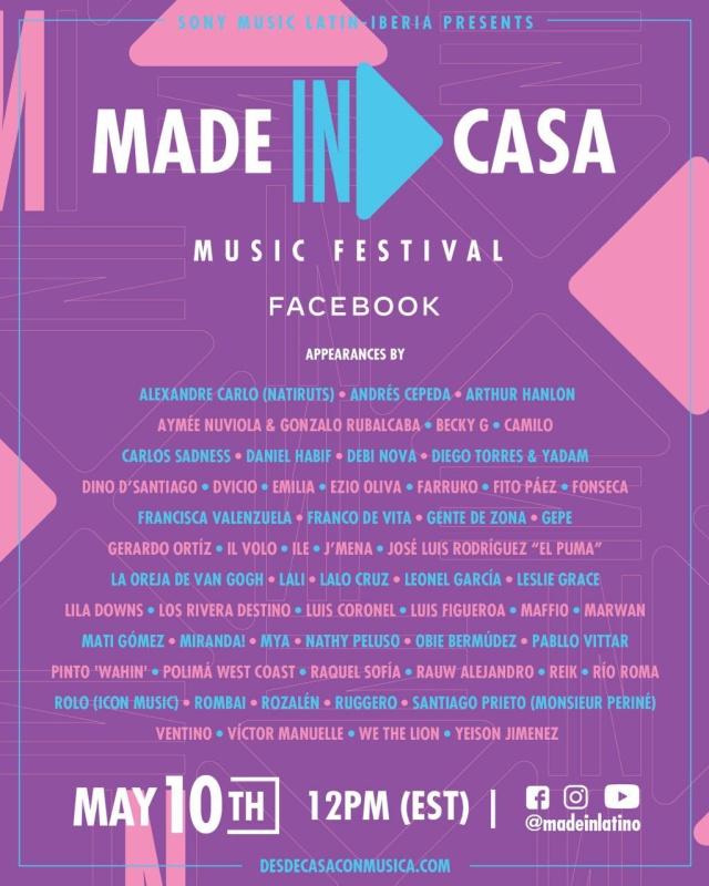 #DesdeCasaConMusica Music Festival