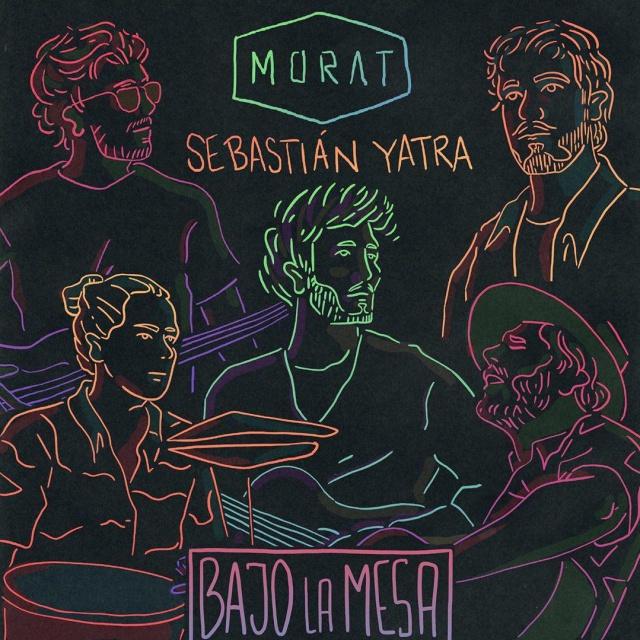 """Morat y Sebastián Yatra lanzan """"Bajo la mesa"""""""