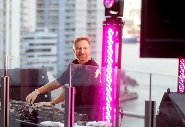 David Guetta arma una fiesta con causa desde Nueva York
