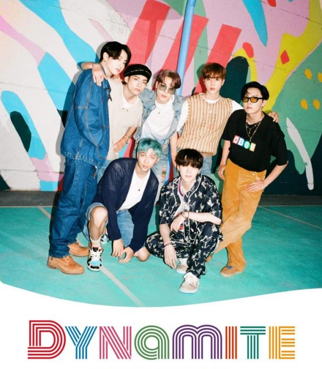 BTS logra exitoso estreno con Dynamite