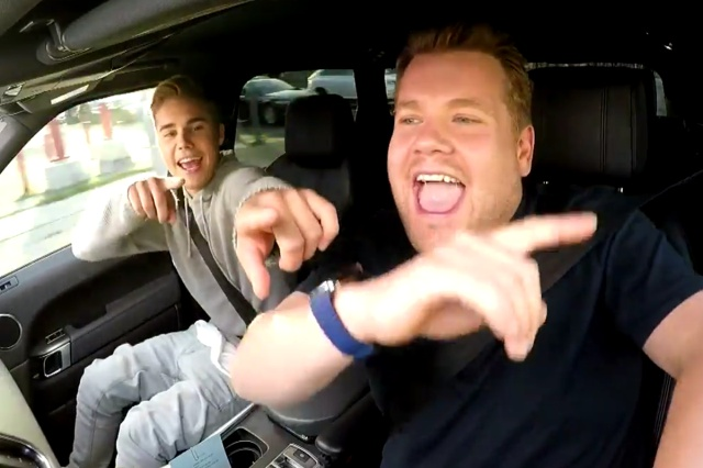 Carpool Karaoke se une a Apple